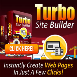 Turbo Site Builder Software! Turbo Site Builder %98 Discount!