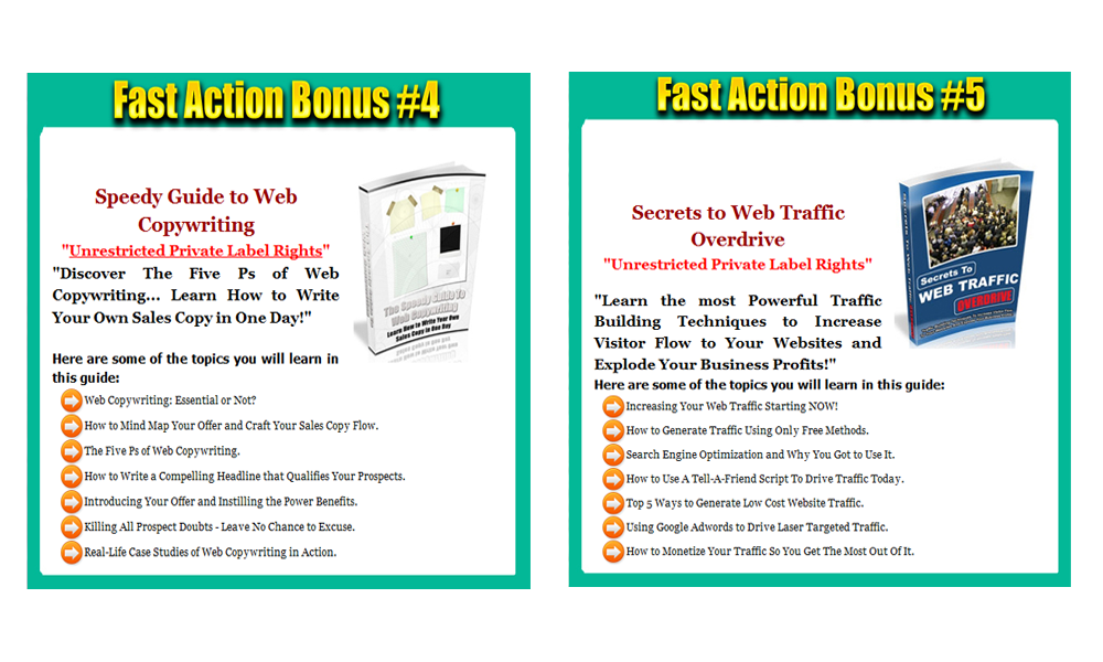 Tutbo Site Builder Software! Bonus 2-4