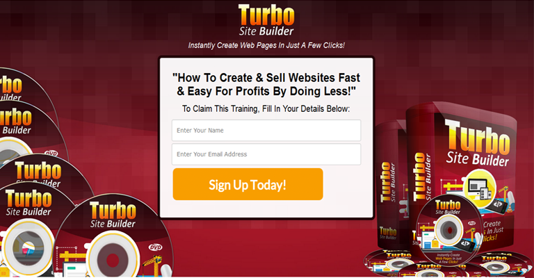 Turbo Site Builder Optin Page