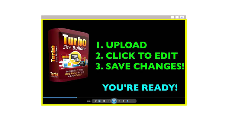 Turbo Site Builder Promo Video